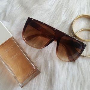 Ombre' Flat Top Sunglasses